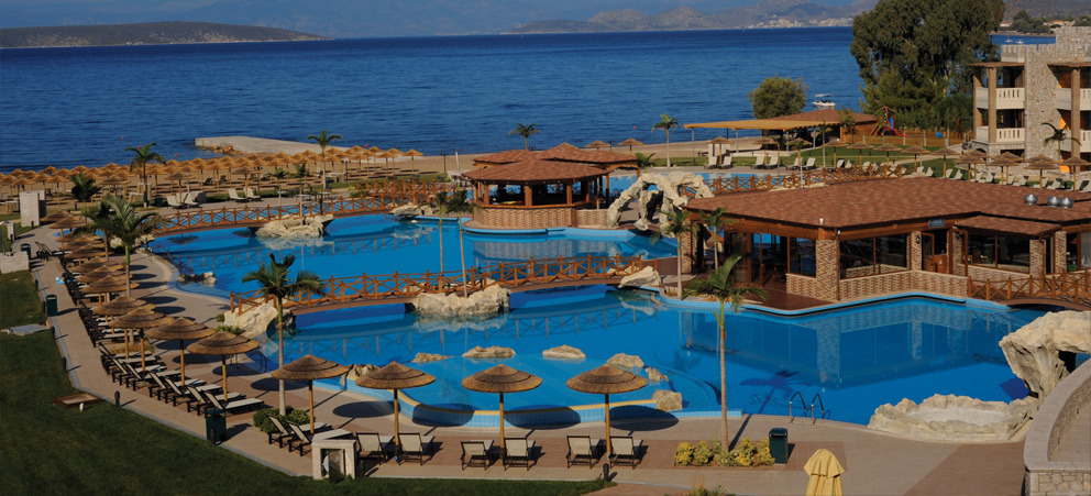 KANDIA 'S CASTLE HOTEL - RESORT - THALASSO - 5 STAR HOTEL IN